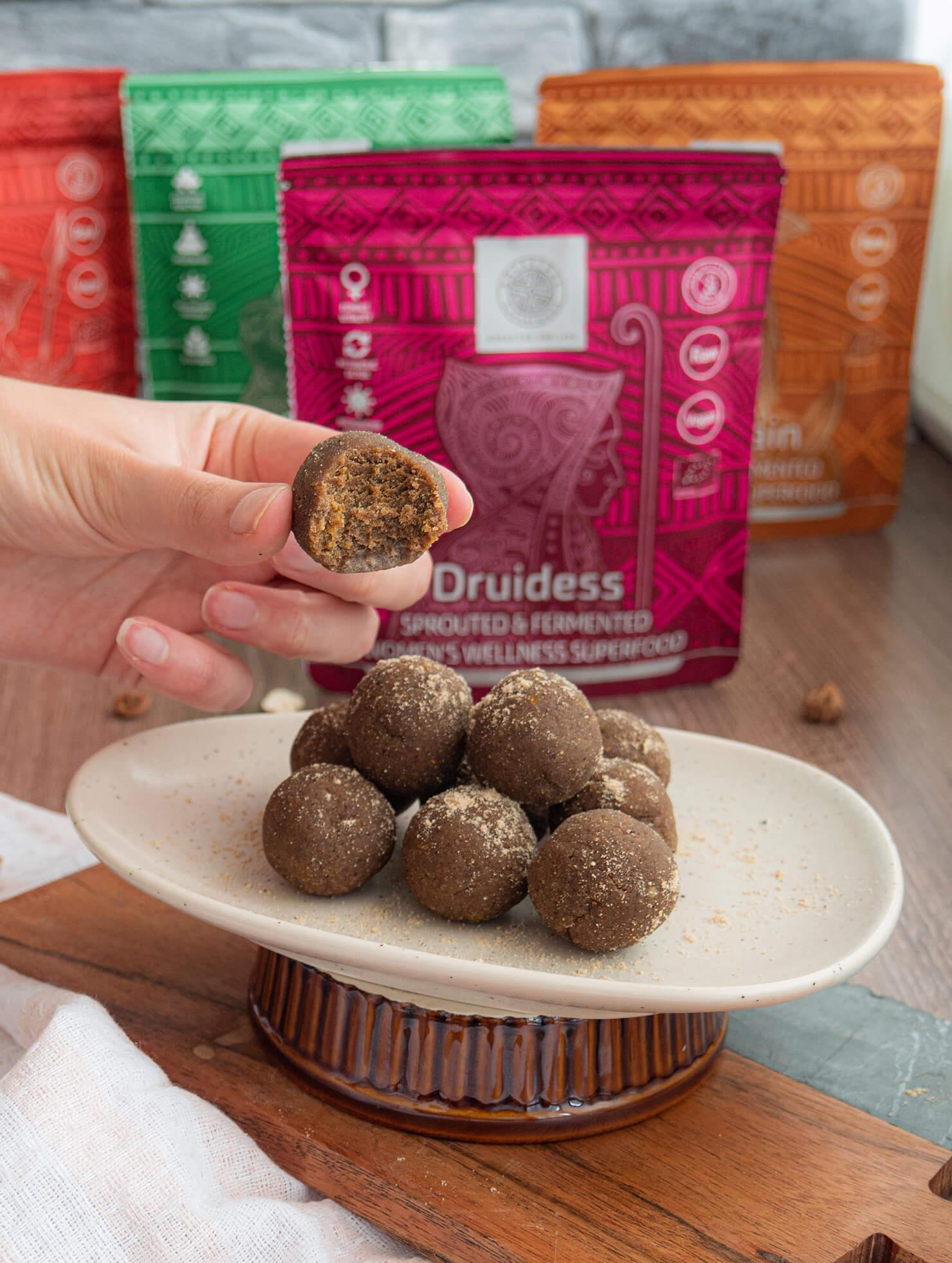 Лесни Лешникови бонбони с Druidess